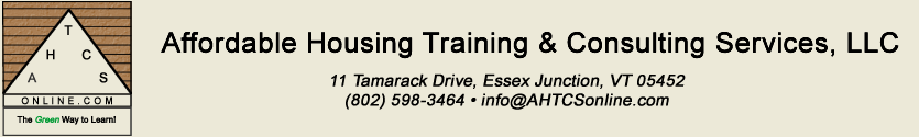 Affordable Housing Training & Consulting Services, LLC
